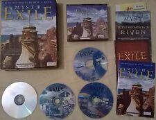 MYST III EXILE, Big Box da collezione, per PC, EDIZIONE ITALIANA, 4 CD rom