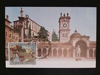 ITALIA MK 1978 UDINE PIAZZA MAXIMUMKARTE CARTE MAXIMUM CARD MC CM c8655