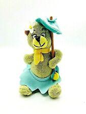 "Hanna Barbera 6"" CINDYBear Plush from THE YOGI BEAR SHOW Stuffed Animal Toy"