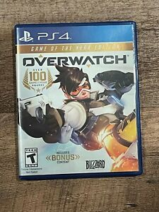 1X GAME PS4: OVERWATCH GAME OF THE YEAR EDITION - FAST FREE SHIPPING -
