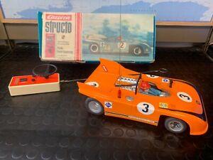 Vintage RC Car CARRERA STRUCTO 90210 Porsche 908 4 channels 1:12 scale
