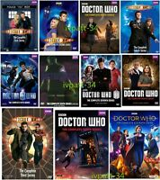 Doctor Who Season 1-11 (DVD,58-Disc Set, Region 1)Complete Series New & Sealed