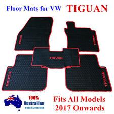 Waterproof Rubber Floor Mats Tailor Made For Volkswagen Tiguan 18 - 2020 Current
