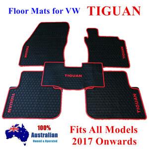 Waterproof Rubber Floor Mats Tailor Made For Volkswagen Tiguan 2017 - 2021