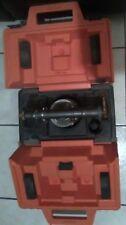 Vintage David White Instruments 8114 Level Transit Survey Equipment With Case