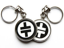 More details for take that pop group boy band chrome keyring picture both sides