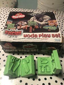 Play-Doh 1981 Star Wars Empire Strikes Back Yoda Playset, 2 Molds And Box