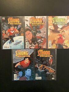 Tom Strong and the Planet of Peril 1-6 no 4 High Grade Vertigo Lot Set CL98-99
