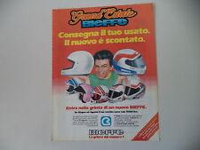 advertising Pubblicità 1987 CASCO HELMET BIEFFE