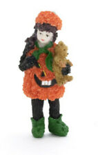 Dolls house figure 1/12th scale poly/resin Pumpkin Girl
