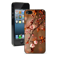 For Apple iPhone X SE 5 5S 5c 6 6s 7 8 Plus Hard Case Cover 1319 Cherry Blossom