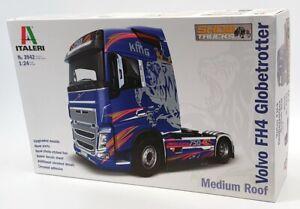 Italeri 1/24 Scale Model Truck Kit 3942 - Volvo FH4 Globetrotter Medium Roof