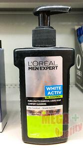 150 ml. Loreal Men Expert White Activ Charcoal Serum Foam Bright Oil Control