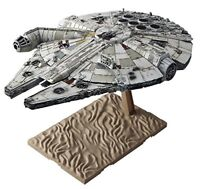 Star Wars Millennium Falcon awakening of Force 1/144 scale plastic model Figure