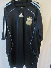Argentina 2007-2009 Away camiseta de fútbol Talla 2xl / 11622