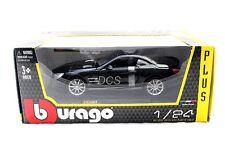 BBURAGO  MERCEDES BENZ SL 65 BLACK  1/24 DIECAST CAR 21066BK