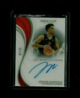 Jerome Robinson Immaculate INTRODUCTIONS Auto Rookie #/99! ACETATE! Clippers RC!