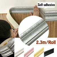 2.3M Waterproof 3D Pattern Self Adhesive Wall Stickers Living Room Kitchen Decor