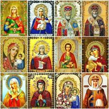 Diamond Painting Virgin Mary Religion Icon Mosaic Embroidery Full Square Decor