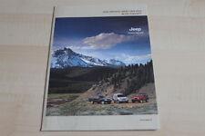 106826) Jeep Wranger + Cherokee - Österreich - Prospekt 200?