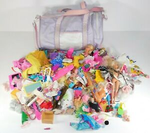Huge Lot of Vintage Barbie Doll Toy Mixed Clothes Accessories Mattel Retro