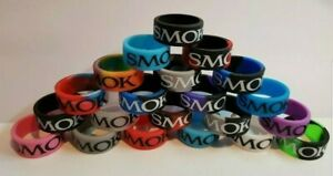 Smok Rubber Vape Bands Rings 21x10mm Protection tfv12 tfv8 bubble glass case
