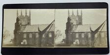 Antique Stereoview Photo Isleworth Church 1912 Full Photographic Description