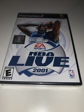 NBA Live 2001 for PS2® by EA Sports *Brand New Factory Sealed* unopened