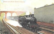 POSTCARD   RAILWAY   London  and  North  Western  Express