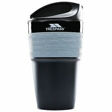 Trespass Silicone Collapsible Coffee Cup Travel 355ml BPA Free