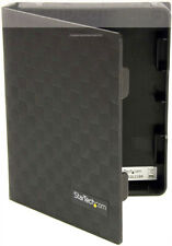 6 Pack of StarTech 2.5in Anti-Static Hard Drive Protector Case Black - (D2)