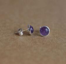 Handmade Amethyst Fine Earrings