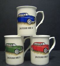 JAGUAR MK2 car Fine Bone China Mug Cup Beaker