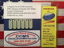 CCMS OMC Johnson Evinrude Sport Outboard Reeds 185-250hp Looper PN166S