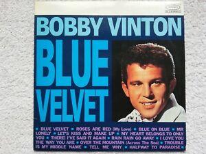 BOBBY VINTON - BLUE VELVET .      LP.