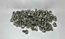 (100) M8-1.25 x 20mm/ M8x20mm Hex Flange Bolts 8mm x 20mm Stainless Steel