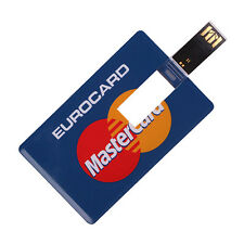 Credit Card Style Memory Flash USB Drive