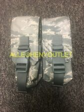 Lot of 2 Military Double Mag Ammo Pouch w/ Quick Release Buckle Tiger Stripe NEW