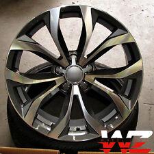 18 inch Avant Style Wheels Gunmetal Fits Audi A4 A5 A6 S4 TT Volkswagen GTI Rims