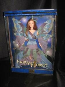 2000 FAIRY OF THE Forest Barbie Doll Fairies Collection 1st in Serie #25639 NRFB
