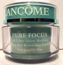 Lancome Pure Focus Matifying Skin Revitalizing Gel Cream 1.7oz Oil Free NEW