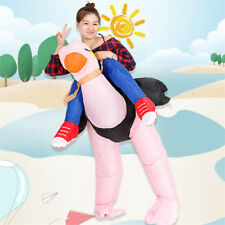 Ostrich Shaped Inflatable Costume Funny Comical Theme Christmas Halloween Party
