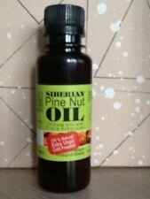 100% SIBERIAN CEDAR PINE NUT OIL.EXTRA VIRGIN,COLD PRESSED,UNREFINED 100ML.