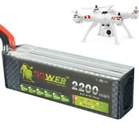 11.1V 2200mAh 25C LiPo Battery With T Plug For Remote Control Model Aircraft