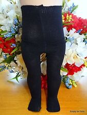 "BLACK Doll TIGHTS / STOCKINGS fits 15"" & 18"" AMERICAN GIRL Doll Clothes"