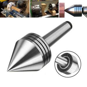 MT2 Resistente Rotante Live Tornio Cuscinetto Contropunta Centro Metallo Tool