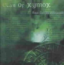 Clan of Xymox Notes From The Underground CD 12 Track US Metropolis