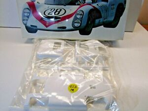Tamiya 1:18 Scale Porsche Carrera 910 Body & Chassis Parts Only - Sealed