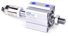 SDAJ32X40-30-SB Adjustable Stroke PneumaticAir Cylinder External thread magnetic