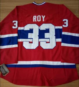 Canadiens Red Patrick Roy Jersey M, L, XL, 2XL, 3XL